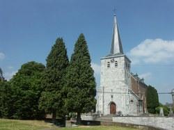 Eglise Sainte-Madelberte à Celles