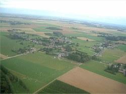 Vue aérienne Borlez