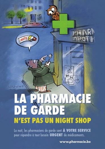 Pharmacie de garde night shop