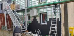 """Rénovation du bâtiment du service de repassage """"Sans un pli"""""""