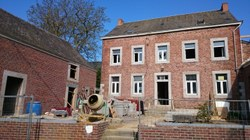 Rénovation du presbytère à Les Waleffes